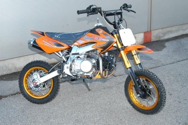 Dirt bike 125 cc pro cadre aluminium